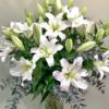 Ramos santander liliums blanco floristeria madrid